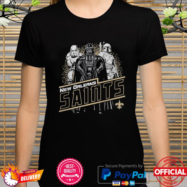 New Orleans Saints Empire Star Wars shirt