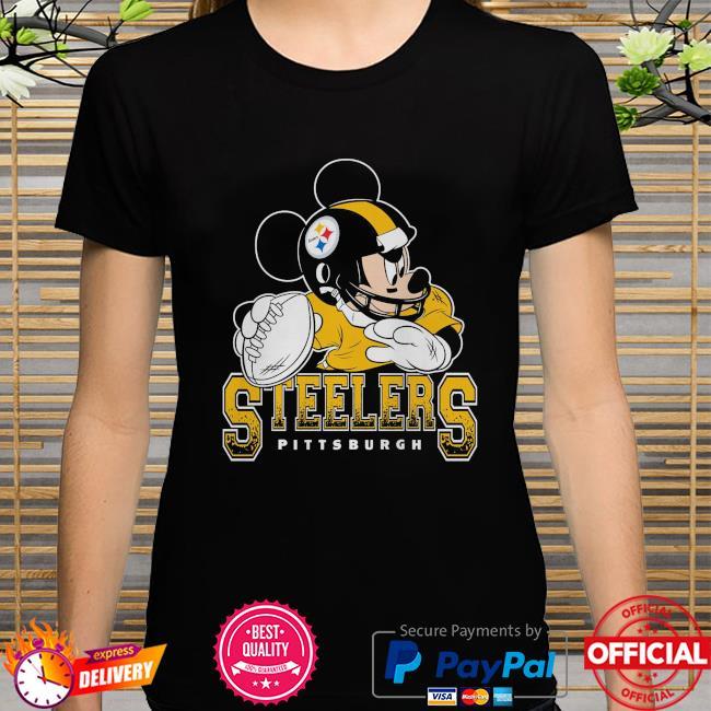 Pittsburgh Steelers Disney Mickey shirt