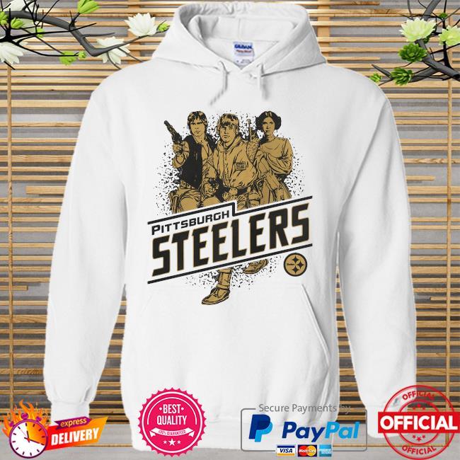 Pittsburgh Steelers Rebels Star Wars Hoodie white