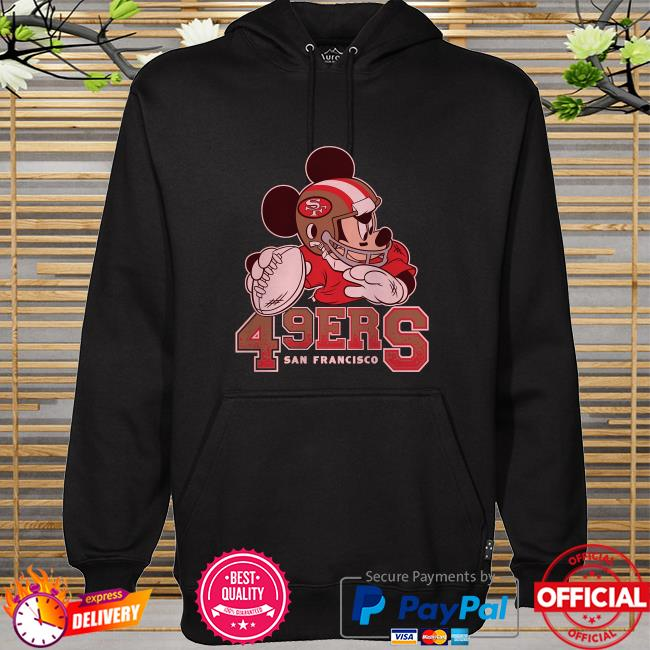 San Francisco 49ers Disney Mickey hoodie