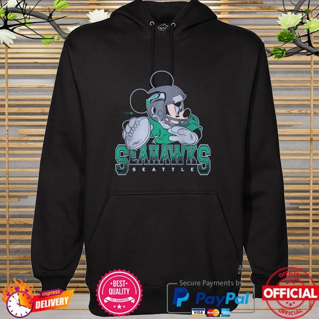 Seattle Seahawks Disney Mickey hoodie