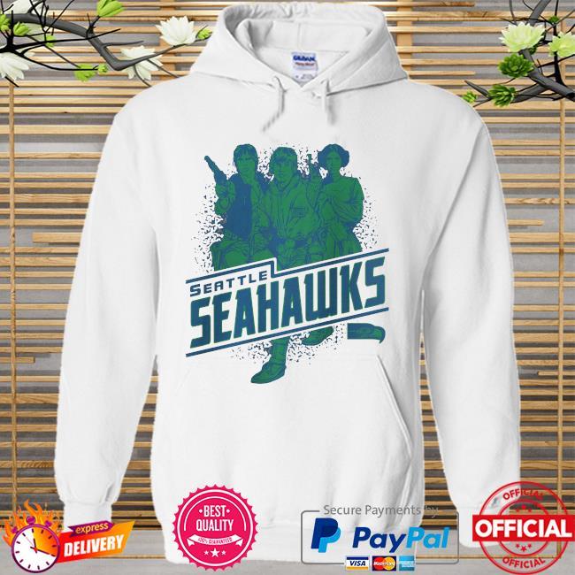 Seattle Seahawks Rebels Star Wars Hoodie white
