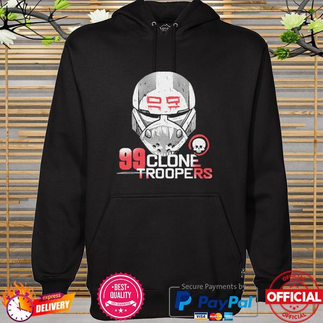 Star Wars The Bad Batch 99 Clone Troopers hoodie