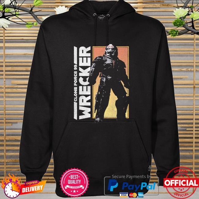 Star Wars The Bad Batch Clone force 99 Wrecker hoodie