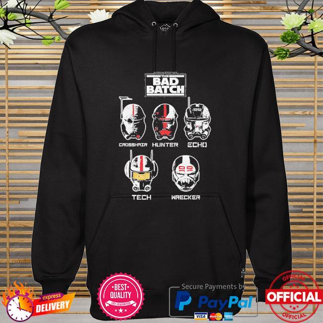 Star Wars The Bad Batch Helmet Group hoodie