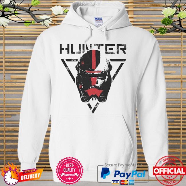 Star Wars The Bad Batch Hunter Hoodie white