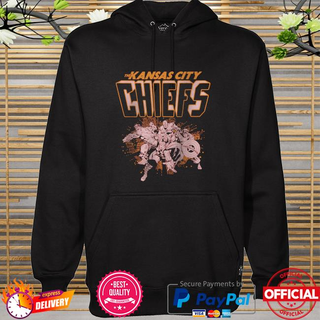 The Kansas City Chiefs Marvel hoodie