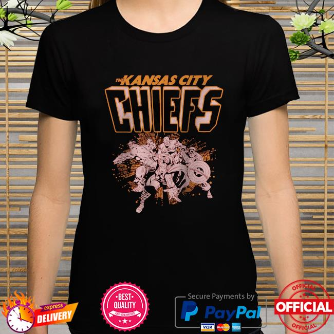 The Kansas City Chiefs Marvel shirt