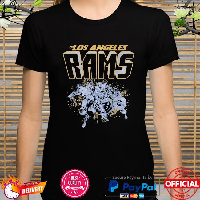 The Los Angeles Rams Marvel shirt