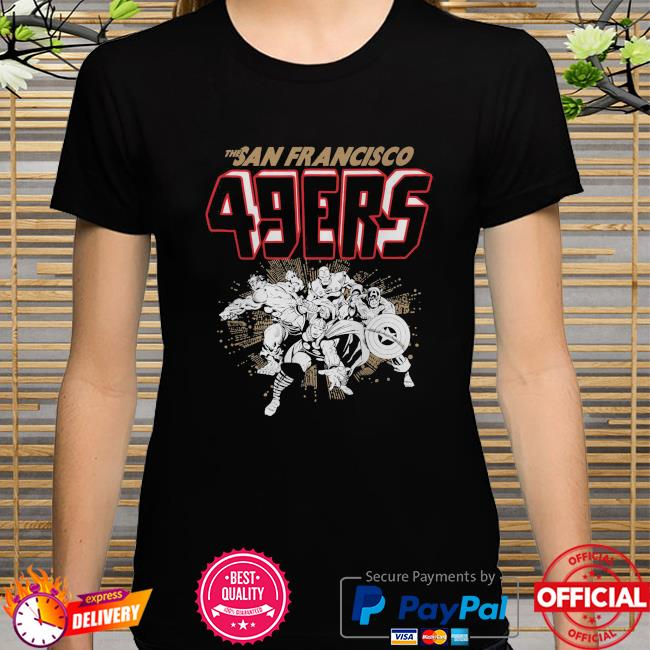 The San Francisco 49ers Marvel shirt