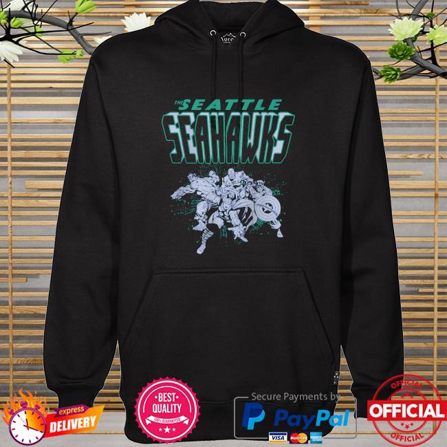 The Seattle Seahawks Marvel hoodie