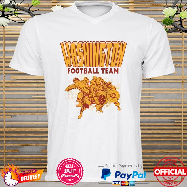 The Washington Football Team Marvel Avengers shirt