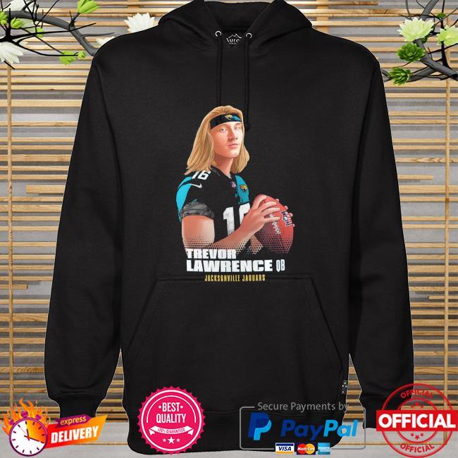 Trevor Lawrence QB Jacksonville Jaguars hoodie