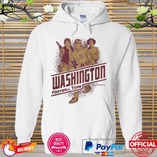 Washington Football Team Rebels Star Wars Hoodie white
