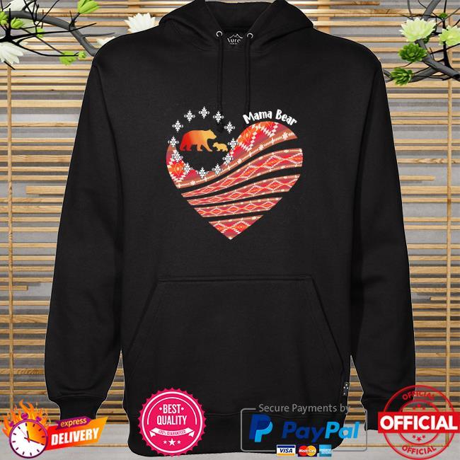 Mama Bear Heart hoodie