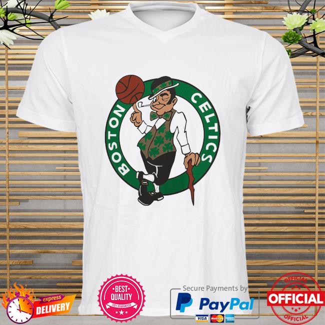 Boston celtics fanatics branded primary team logo shirt