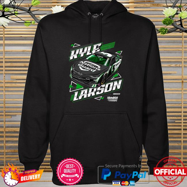 Kyle larson hendrick motorsports team collection nations guard hoodie