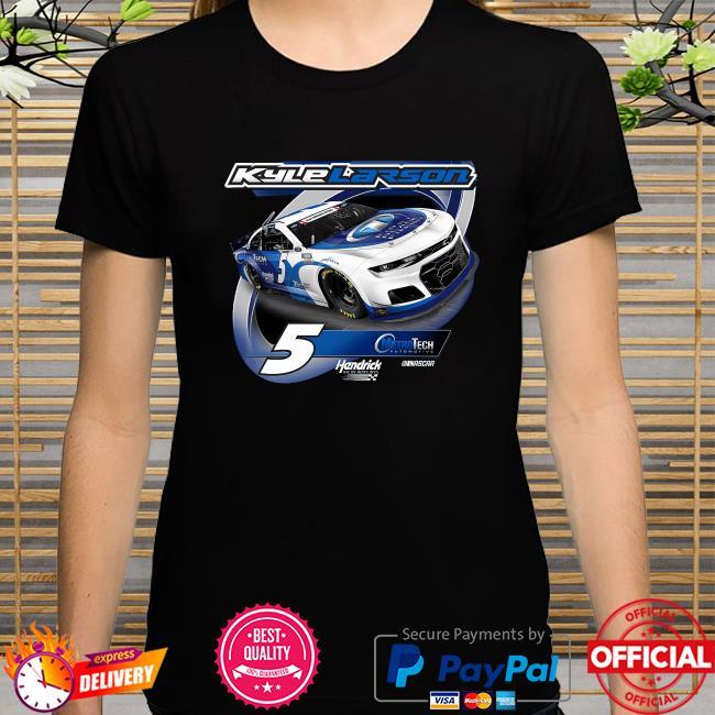 Kyle larson hendrick motorsports team collection metrotech 2-spot graphic shirt