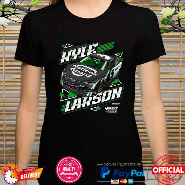 Kyle larson hendrick motorsports team collection nations guard shirt