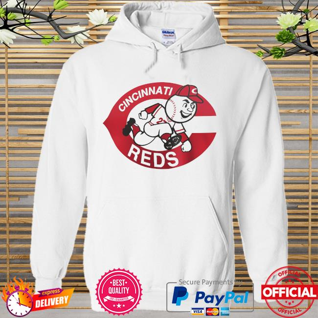 Cincinnati reds fanatics branded cooperstown collection forbes team Hoodie white