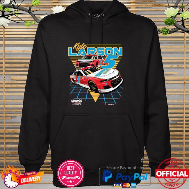 Kyle larson hendrick motorsports team collection t-s hoodie