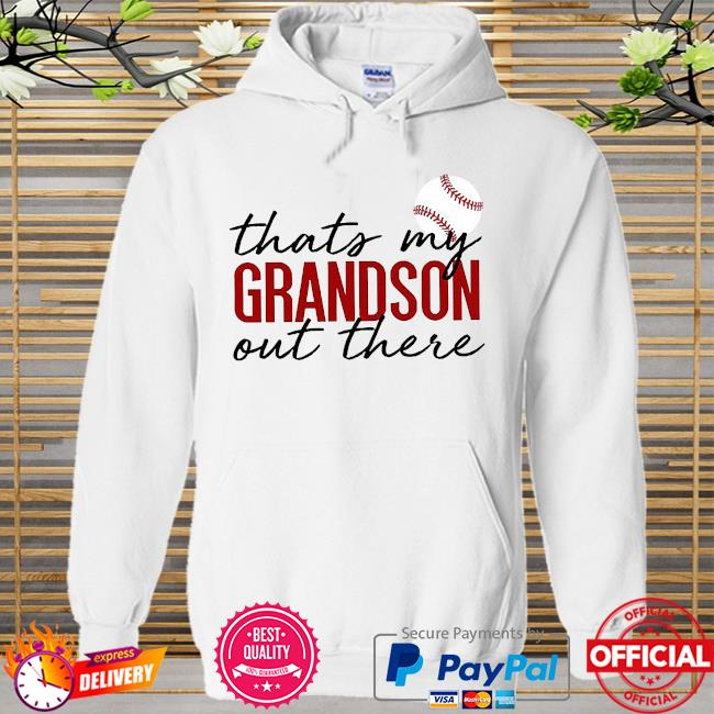 Thats my grandson there out there Hoodie white