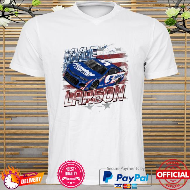 Kyle larson hendrick motorsports team collection old glory shirt