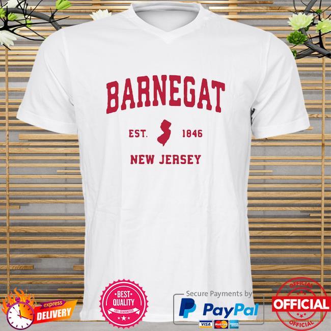 Barnegat New Jersey 1846 NJ Vintage Sports Shirt