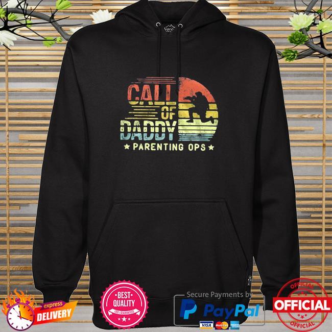 Call Of Daddy Parenting Ops Vintage hoodie