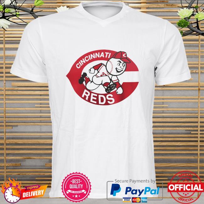 Cincinnati reds fanatics branded cooperstown collection forbes team shirt