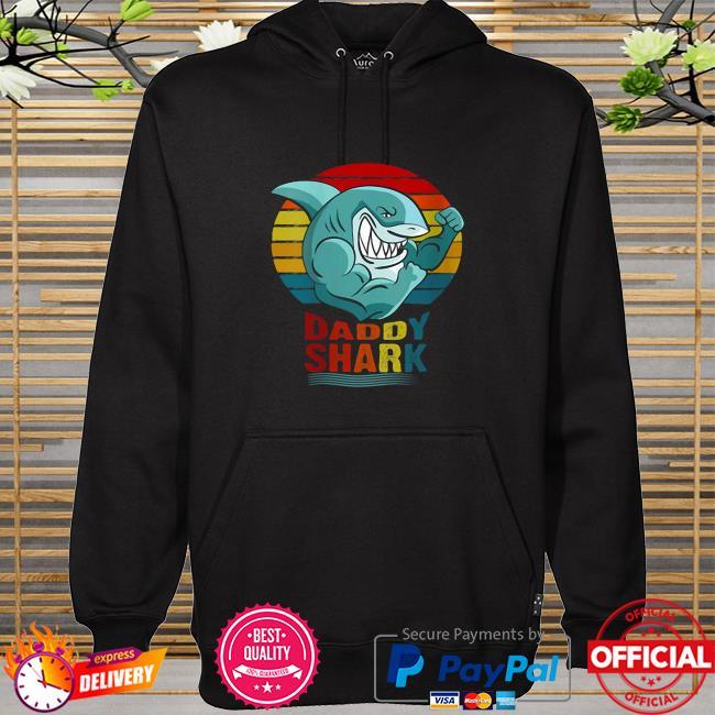 Daddy Shark Powerlifting Weightlifting Bodybuilding Gym Shirt hoodie