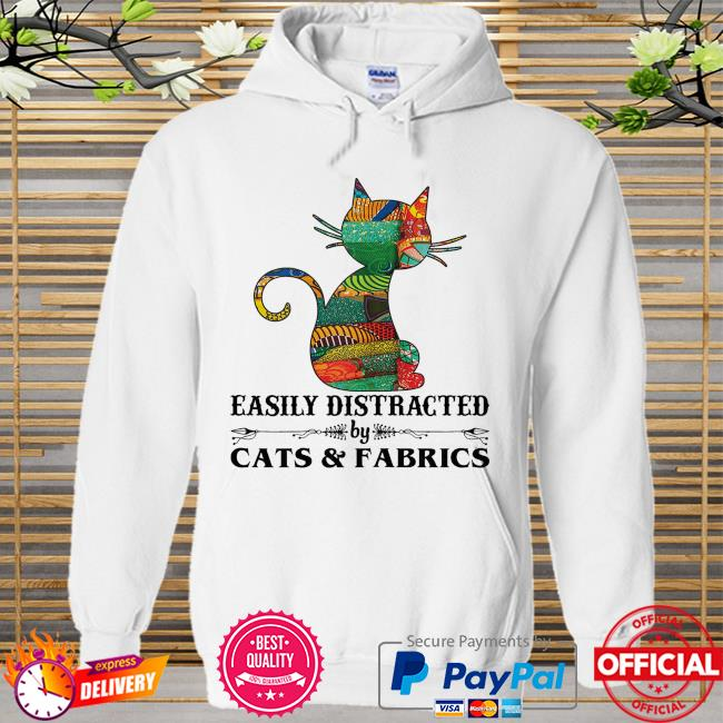 Easily distracted by cast and fabrics Hoodie white