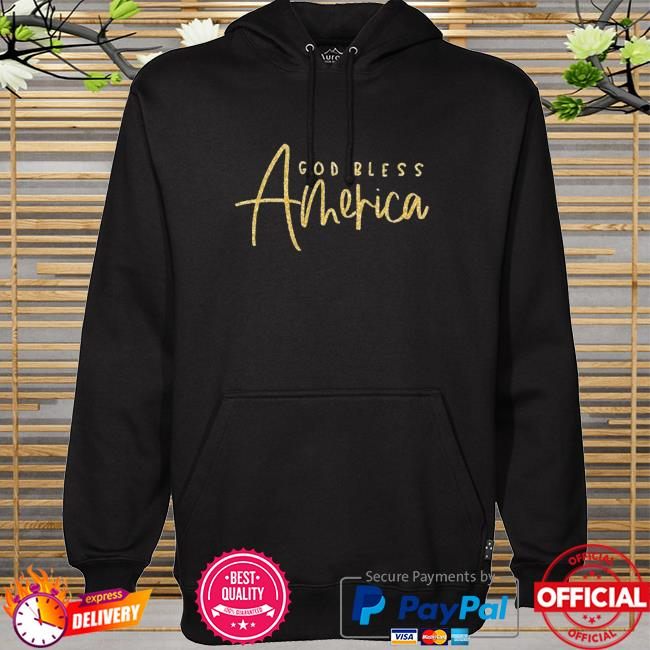 God bless america hoodie