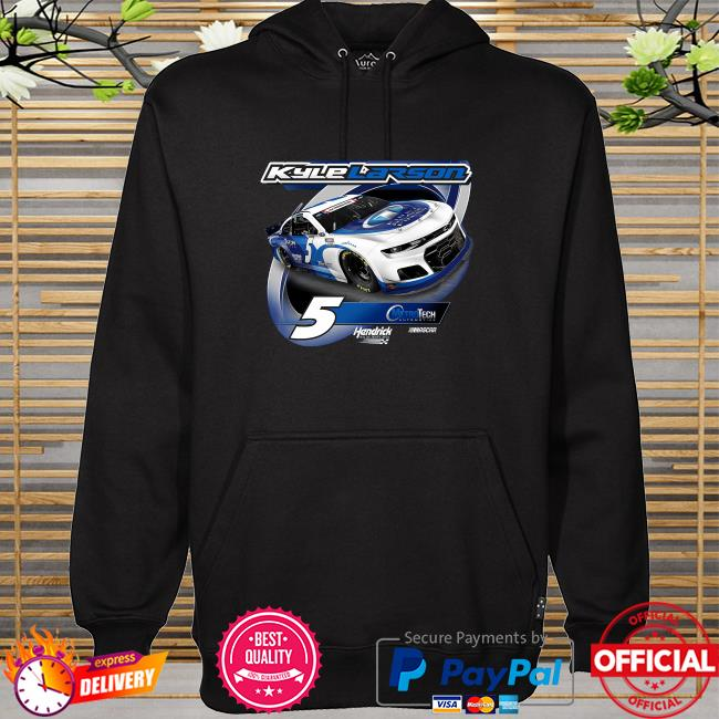 Kyle larson hendrick motorsports team collection metrotech 2-spot graphic hoodie