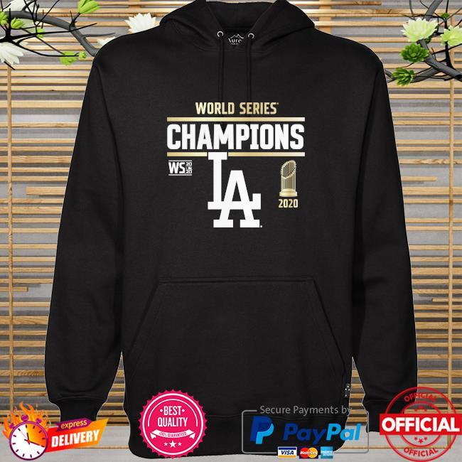 Los angeles dodgers 2020 world series champions hoodie