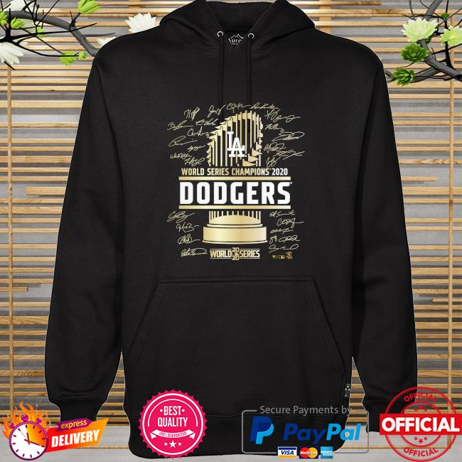 Los angeles dodgers 2020 world series champions t-s hoodie