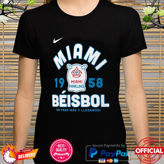 Miami marlins nike 2021 city connect graphic shirt