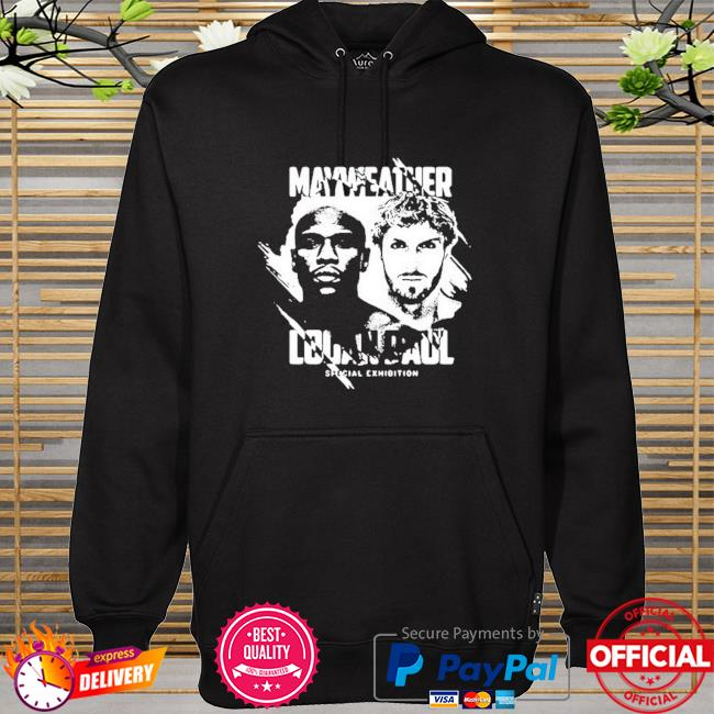 Mayweather logan paul special exhibition hoodie