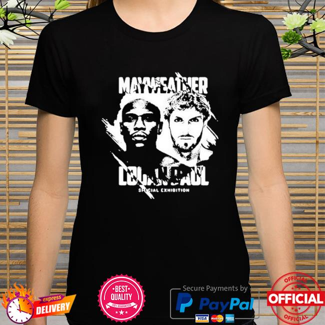 Mayweather logan paul special exhibition shirt