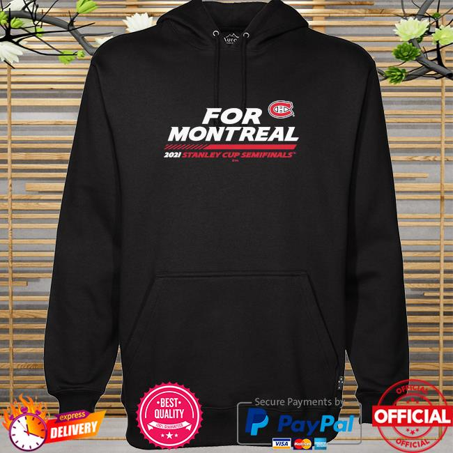 Montreal canadiens 2021 nhl stanley cup playoffs semifinal bound stacking the pads hoodie