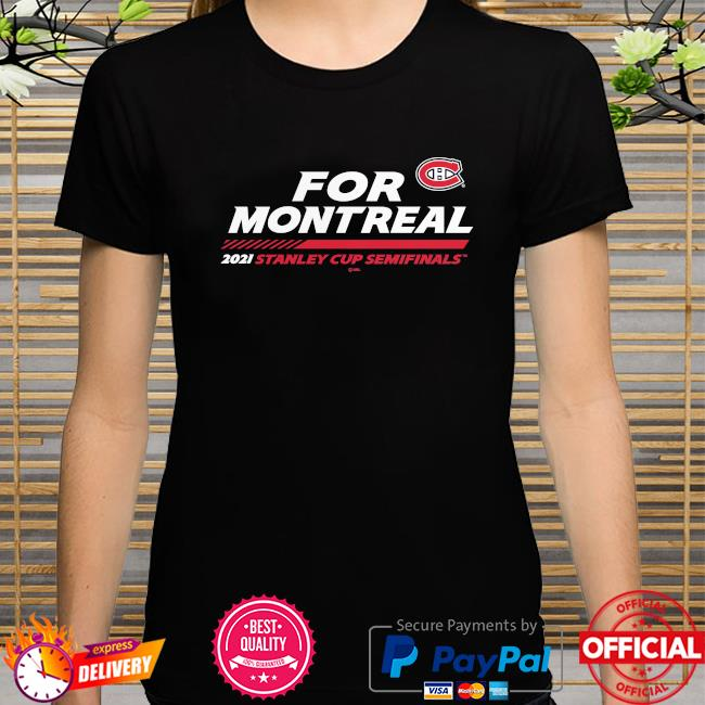 Montreal canadiens 2021 nhl stanley cup playoffs semifinal bound stacking the pads shirt
