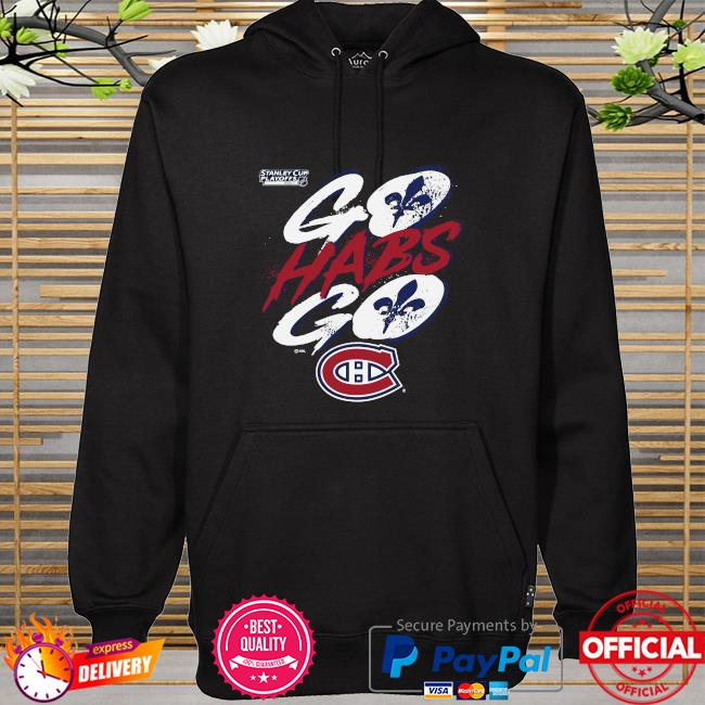 Montreal canadiens 2021 stanley cup playoffs bound heads up play hoodie