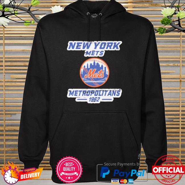 New york mets metropolitans 1962 hoodie