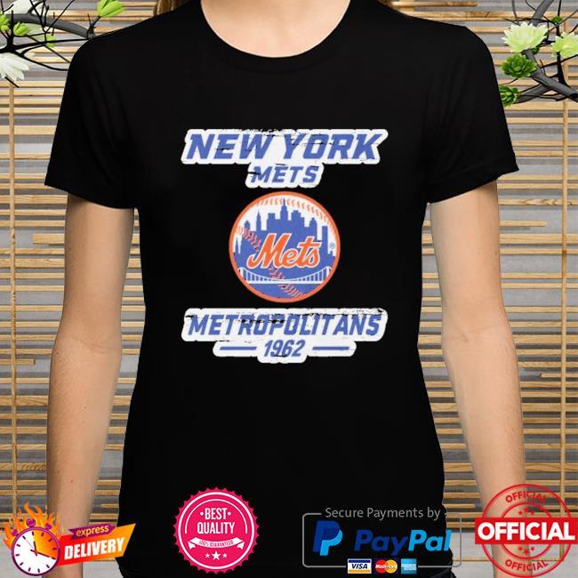 New york mets metropolitans 1962 shirt