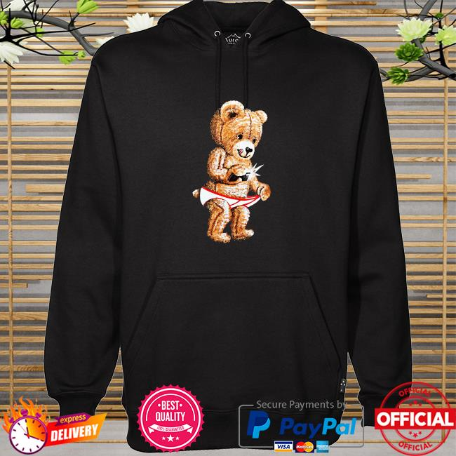Official Giannis Teddy Bear Shirt hoodie