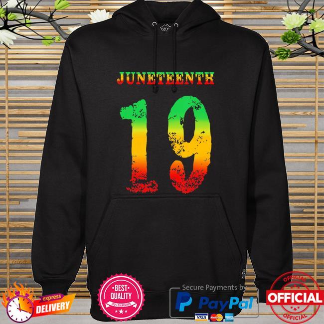 Official juneteenth ancestors black african melanin june 19 girl boy hoodie