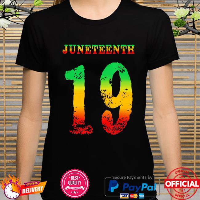 Official juneteenth ancestors black african melanin june 19 girl boy shirt