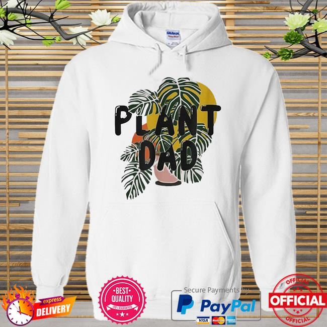 Official Plant Dad Hoodie white
