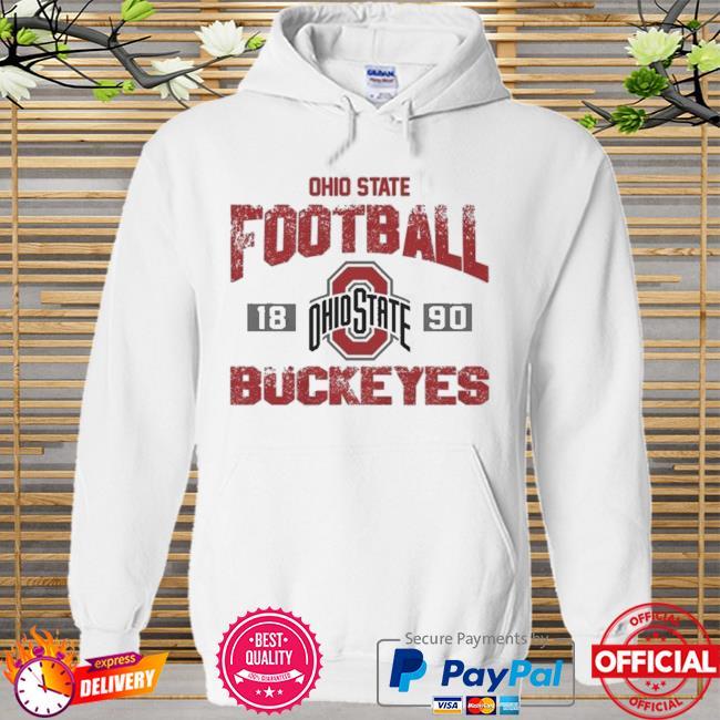 Ohio state buckeyes football 1890 Hoodie white
