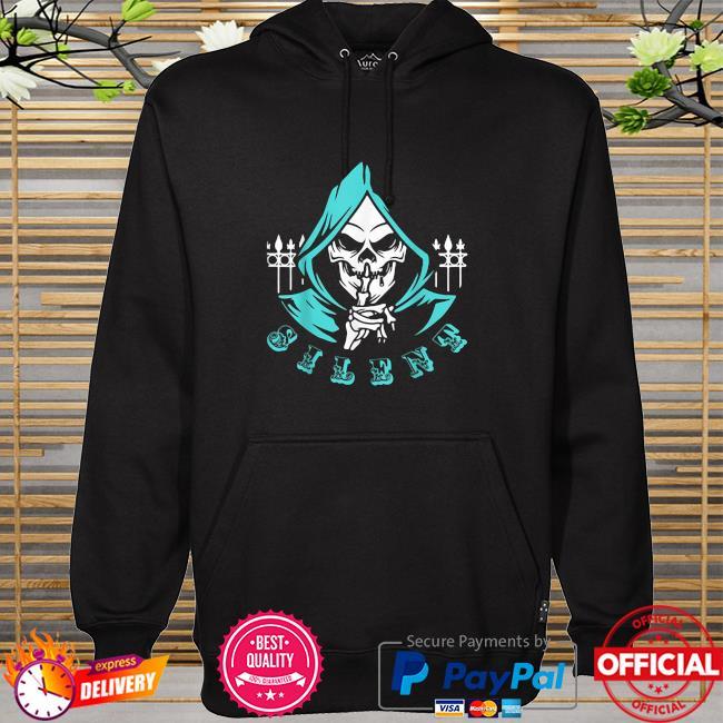 Silent Skull Head Man skull hoodie